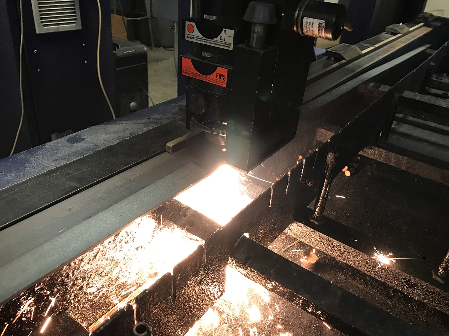 CO2 Laser Cutting Thin Gage Steel