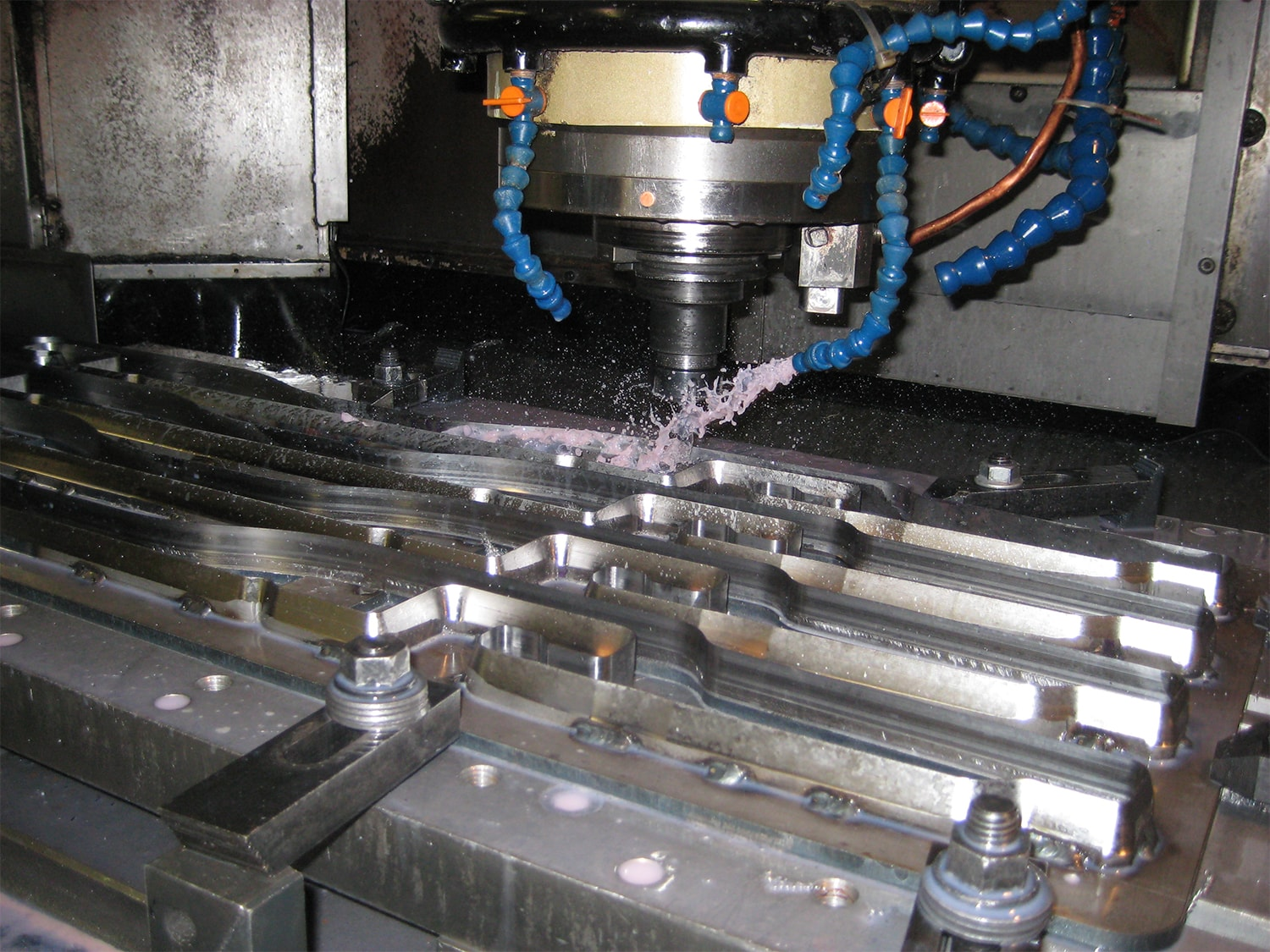 Machining a Forged Die