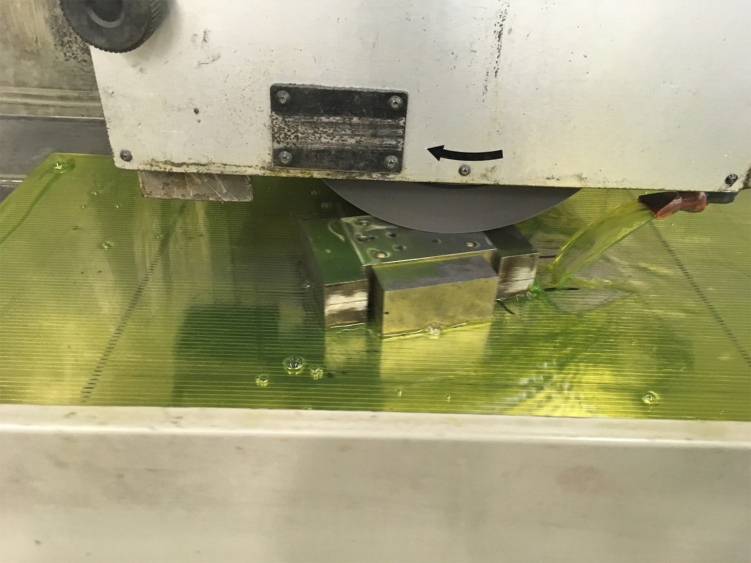 Surface Grinding in Action